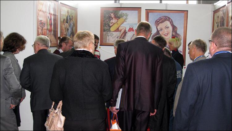 наш стенд на выставке в Ижевске